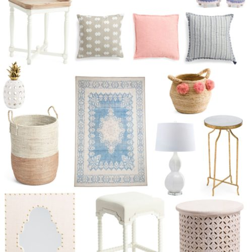 Spring T.J.Maxx Online Home Finds