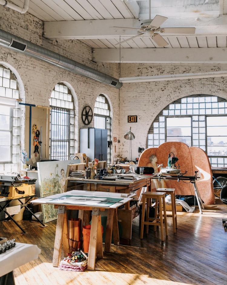 The Creative Exponent   Creative Spaces   Studio Tours   Liz Sparacio