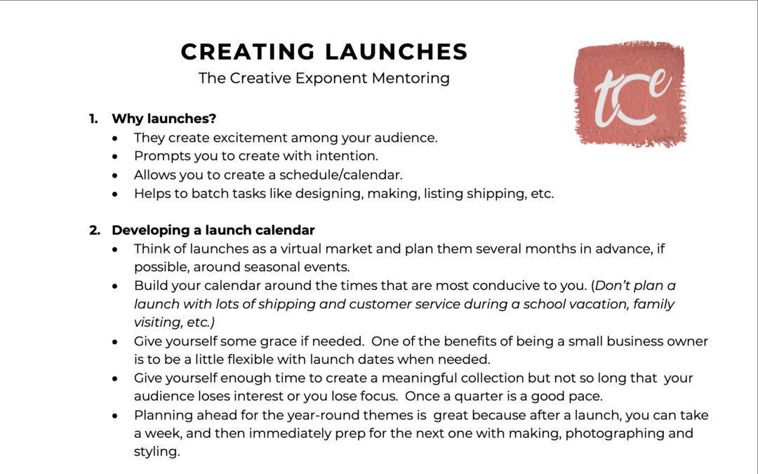 Planning Launches