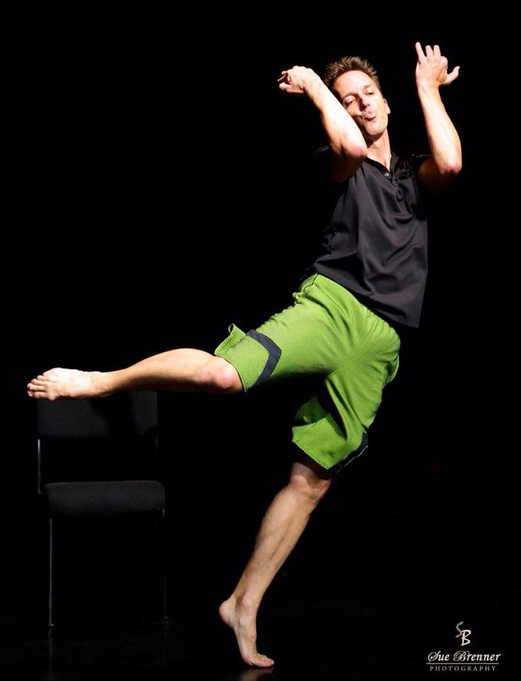 """CGDT Performance of """"New Bee"""" Chard Gonzalez photo by Sue Brenner"""