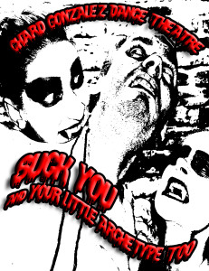 Suck You postcard front