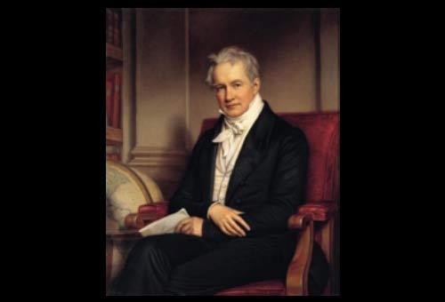 Alexander von Humboldt, scientist, by Joseph Stieler