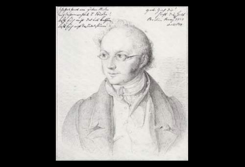 Abraham Mendelssohn Bartholdy, by Wilhelm Hensel