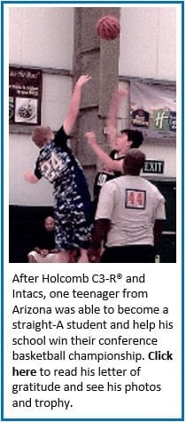 Teenager becomes straight-A student after Holcomb C3-R