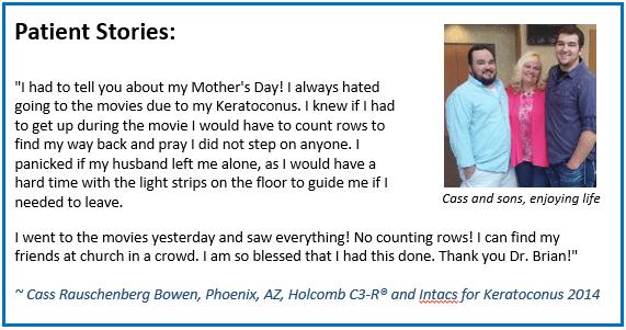Cass Rauschenberg Bowen and sons patient stories