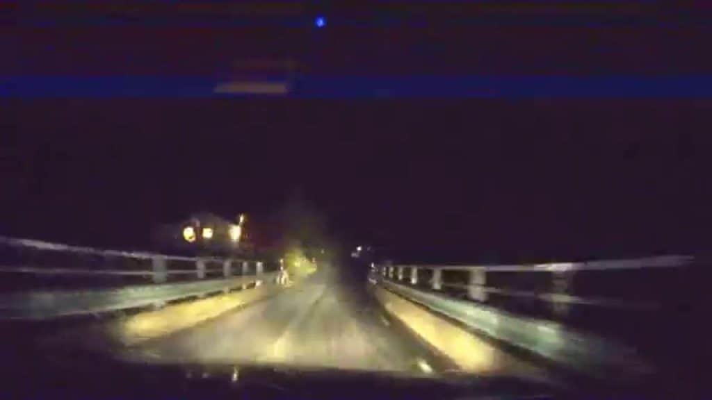 driving at night