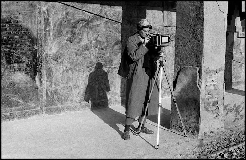 Photographer Unknown, Inge Morath in Iran, 1956
