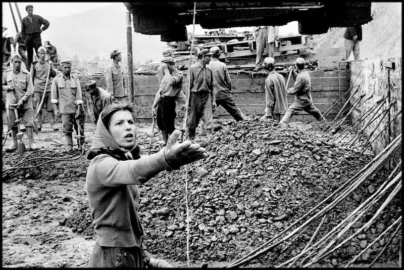 Woman engineer, hydro electric plant, Bicaz , 1958, © Inge Morath Foundation/Magnum Photos.