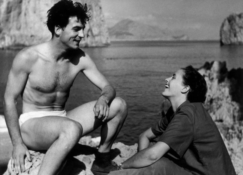Ernst Haas and Inge Morath during their first reportage for Magnum Photos, Capri, Italy, 1949. Photographer unknown © Magnum Collection / Magnum Photos.