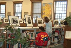 The Inge Morath High School Exhibition Program at Kent School Summer Writers Camp, 2004 © Julia Bolus, 2004.