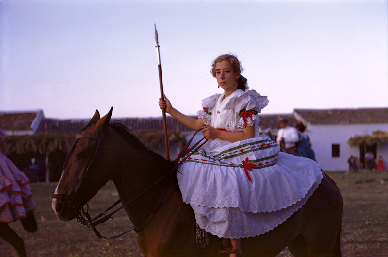 Romeria del Rocio, Andalucia, Spain, 1955. © The Inge Morath Foundation/Magnum Photos