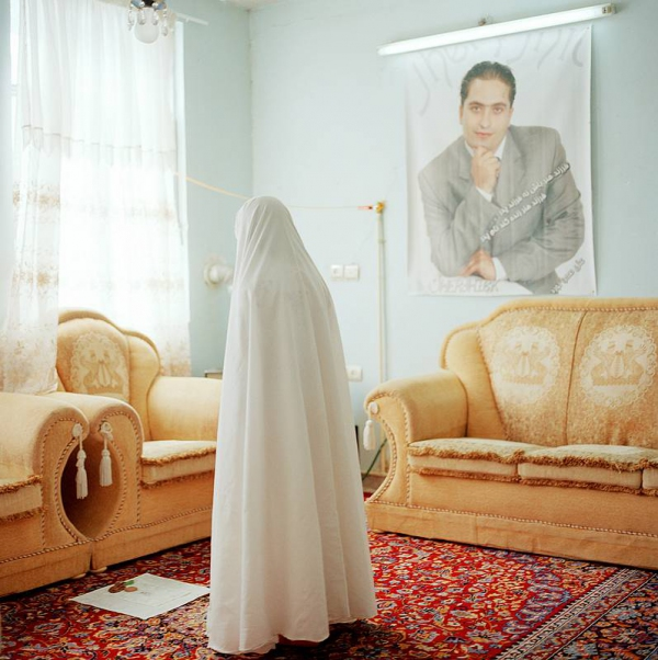"""Olivia Arthur Midday Prayers, Teheran. Out of the series """"The Middle Distance"""", 2007"""