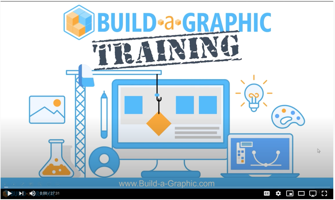 Build A Graphic First Image Of YouTube Video