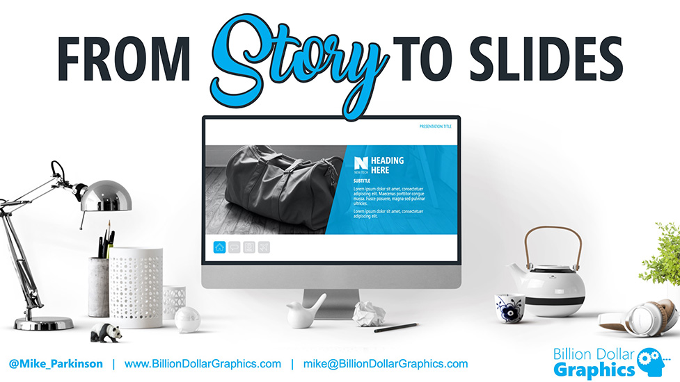 Training Magazine From Story To Slides Title Slide