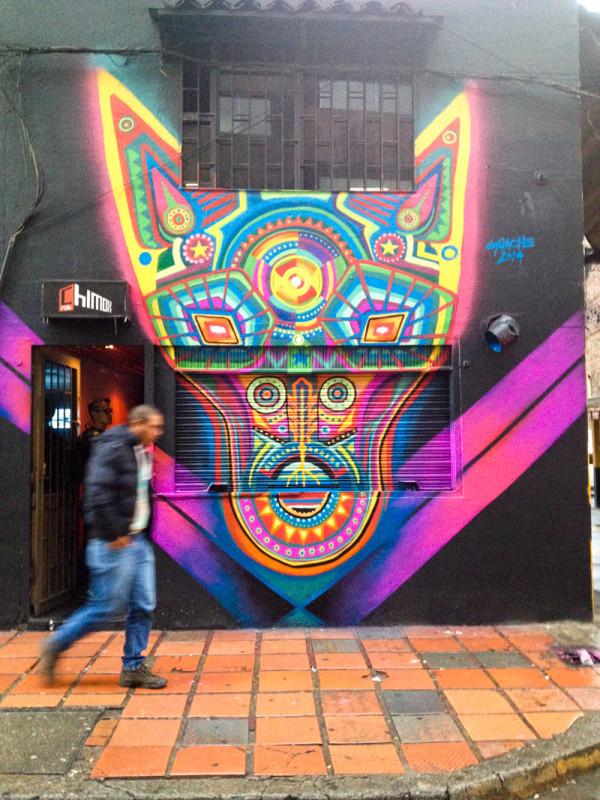 Gauche in Bogota