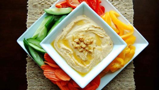 Ginger-Garlic Hummus