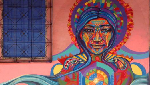 Ancestral Graffiti: Guache