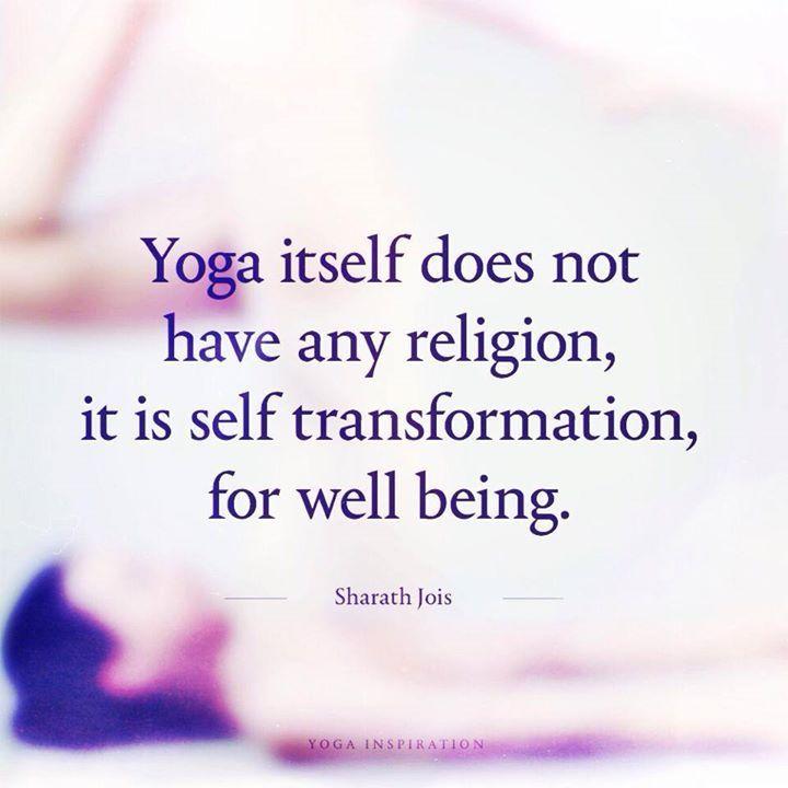 yoganotreligion