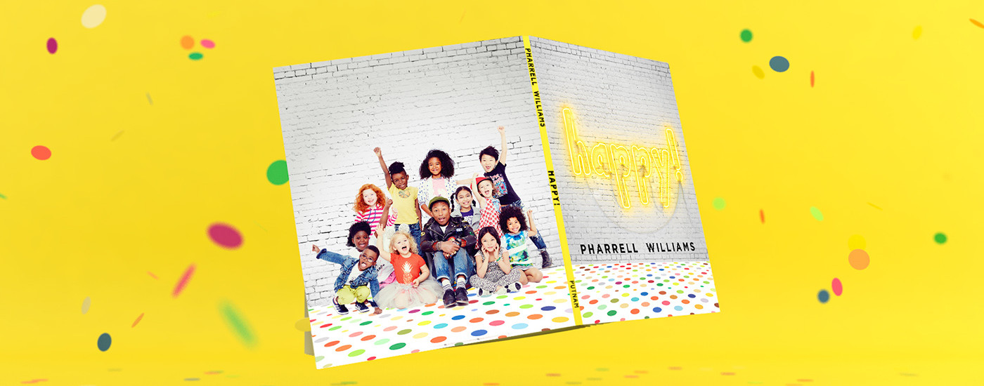 Pharrell Williams Happy Book