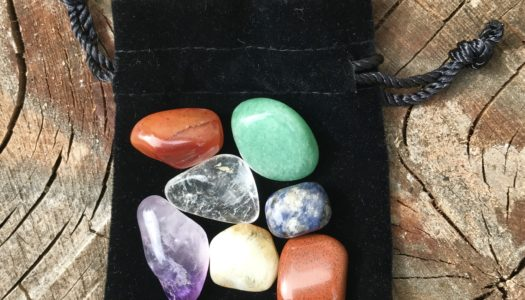 Chakra Balancing Crystal Pouch
