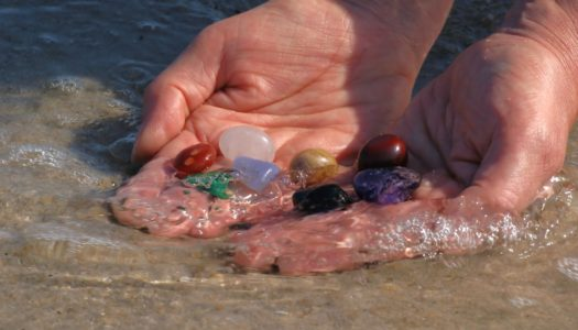 Cleansing Your Crystals with Mother Nature