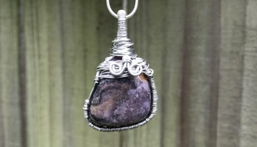 Amethyst: Powerful and Protective Wire Wrapped Crystal Pendant