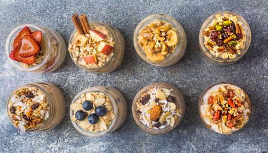 Overnight Oats 8 Different Ways