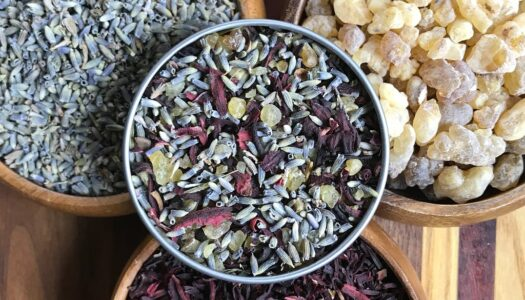Universal Love Infusion: Hibiscus. Lavender. Frankincense