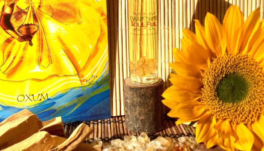 OSHUN Aromatherapy Potion Infused with Citrine