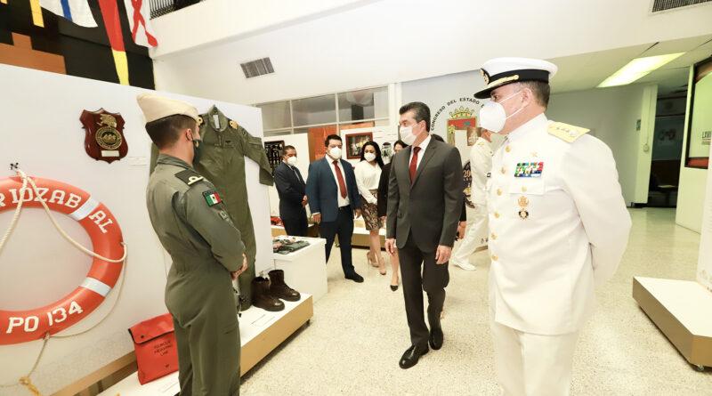 Marina Armada de México, ejemplo de lealtad, honestidad y patriotismo: Rutilio Escandón