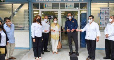 Constatan trabajos de remodelación en la Facultad de Contaduría y Administración de la UNACH