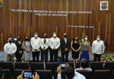 Reconoce titular nacional del ITEI acciones de transparencia del Poder Judicial de Chiapas
