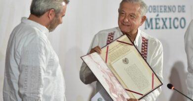 Plan de apoyo a Michoacán se realiza en colaboración con autoridades estatales: presidente; anuncia federalización de nómina magisterial