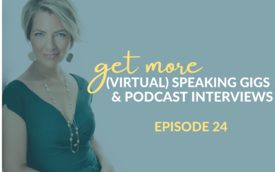 Get More (Virtual) Speaking Gigs & Podcast Interviews With This One Tool