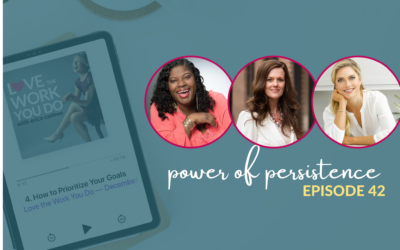 Tapping into the Power of Persistence with Cosette Leary, Jennifer Tracy, and Betsy Opyt