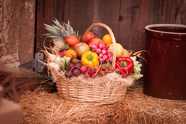 Saticoy Fruit and Vegetable Basket Delivered