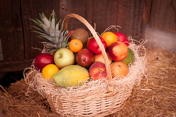 Saint James Fruit Basket Delivered