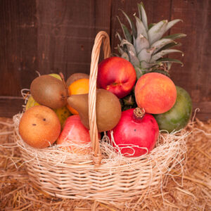 Somis Sunrise Fruit Basket Delivered