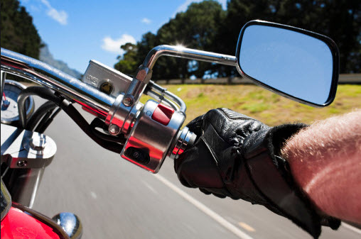 motorcycle driver