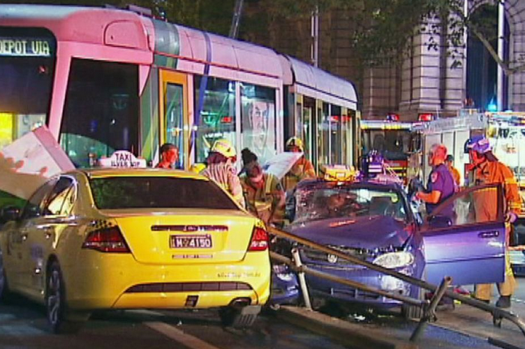 Car Accident in Melbourne