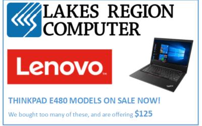 Lenovo Sale!