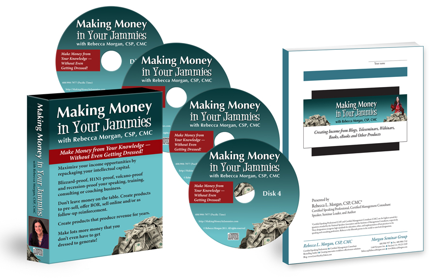 Making Money In Your Jammies home-study course