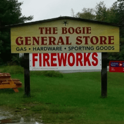the bogie general store sign