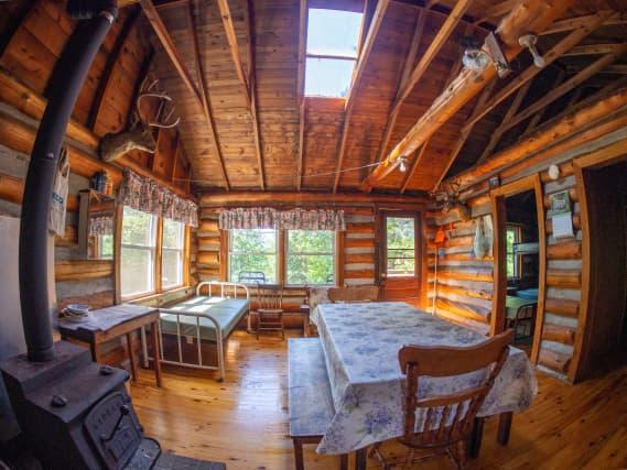 Norcan Lake Cabin Kitchen