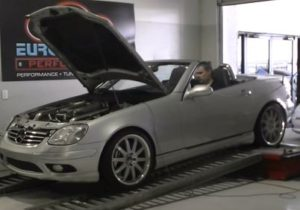 Mercedes SLK AMG Phantom Grip dyno