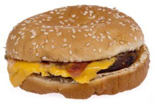 High-calorie, nutrient-poor sandwich