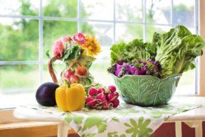Enjoy colorful whole foods
