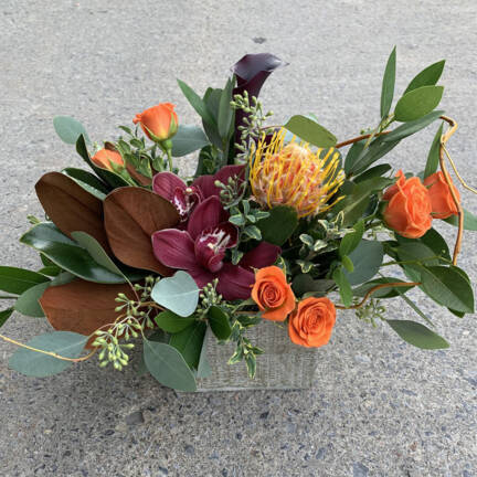 Picture of a Thanksgiving Floral Arrangement