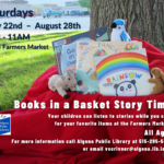 Algona Library Books in a Basket Story Time