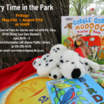Algona Library Story Time in the Park